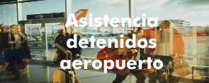 Asistencia detenido aeropuerto